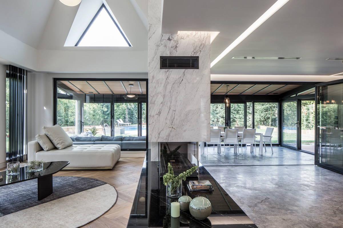 Interior Living Blat Pret Magazin Piatra Online marmura Nero Marquina Negru Lustruit NM 6