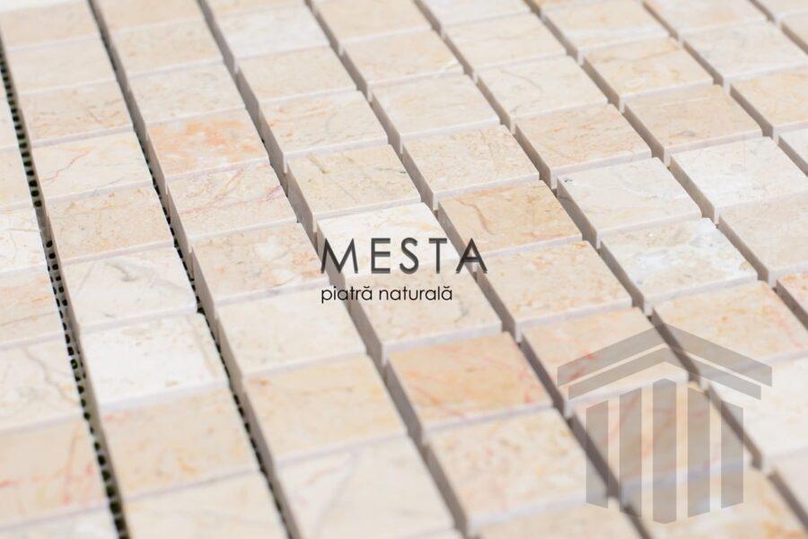 Mozaic Marmura Beige Lucios piatra naturala stone outlet