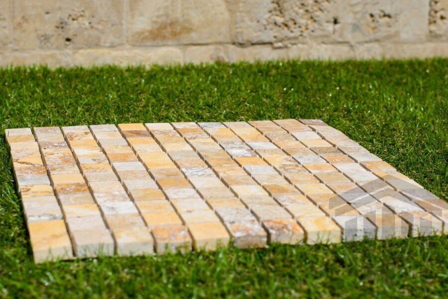 Mozaic Travertin Golden Sienna Lucios