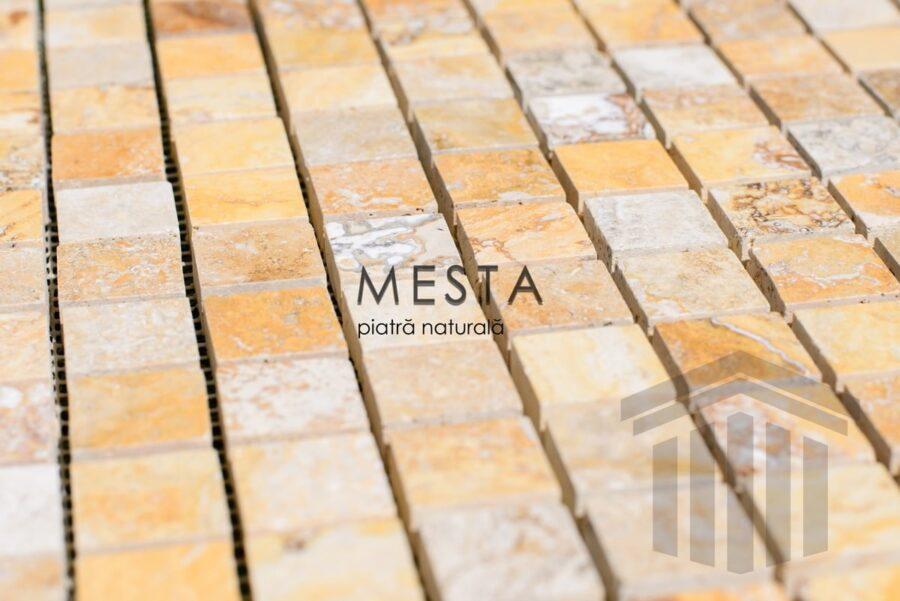 Mozaic Travertin Golden Sienna Lucios piatra online