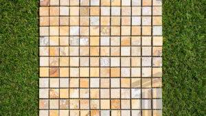 Mozaic Travertin Golden Sienna Polished