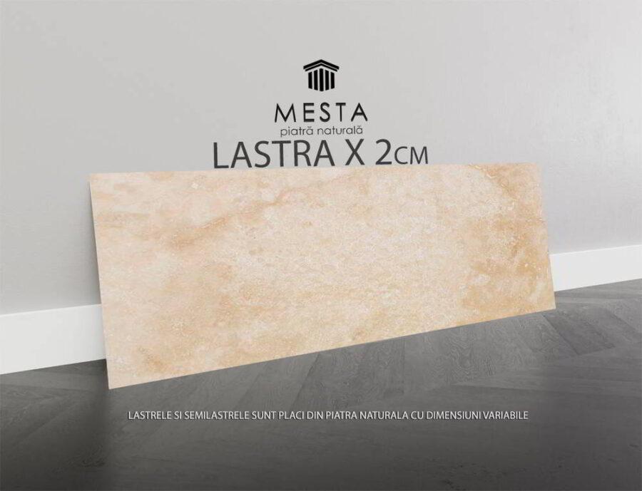 Travertin Classic Cross Cut Mat Lastra x 2cm