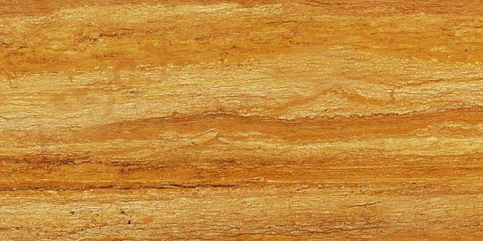 Travertin Golden Sienna Vein Cut lucios piattra online
