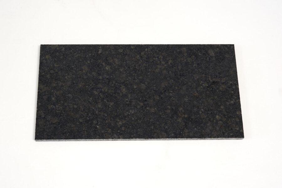 G052 GRANIT ASH BLACK LUSTRUIT SEMILASTRA 2CM MODIFICAT